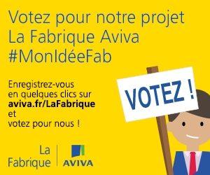 bannière carrée vote Fabrique Aviva